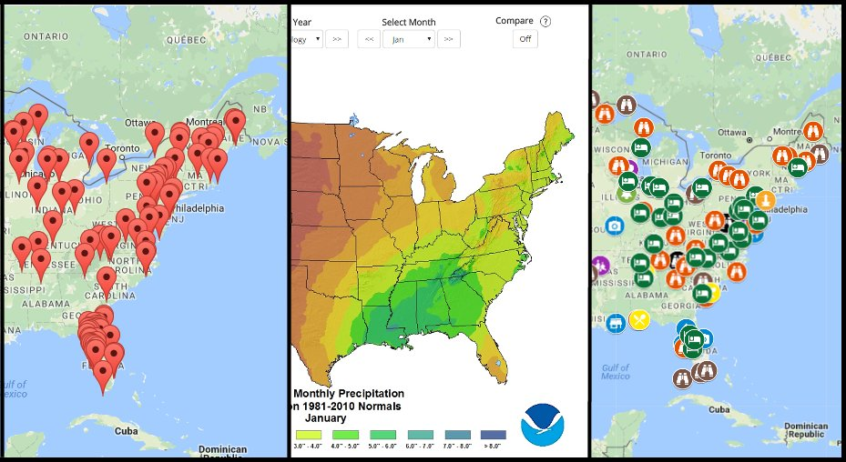 Awesome Interactive Maps! - RV Freedom 4 Us on